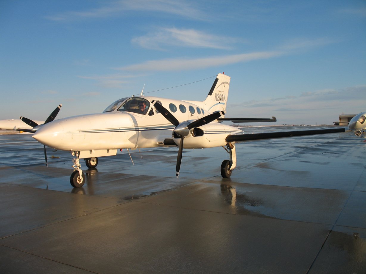 advanced air inc - cessna 421 charter