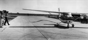 Airplane on New Runway